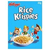 10 Kelloggs Rice Krispies individuels sachets-portions
