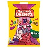 190g Maynards Bassetts Jelly Babies Berry Mix