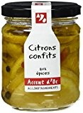 Accent d'Oc Citrons Confits aux Épices 180 g - Lot de 2