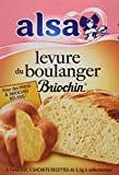 Alsa Levure de Boulanger Briochin 5 Sachets 27,5 g - Lot de 6