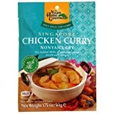 Asian Home Gourmet Singapore Chicken Curry (Pack of 6x1.75z) by N/A