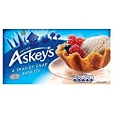 Askeys Brandy Snap Baskets 6 per pack