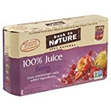 Back to Nature 100% Juice Pouches Berry - 8 CT by Back to Nature