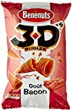 Benenuts Bugles 3D'S goût Bacon 85 g - Lot de 3