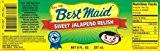 Best Maid Sweet Jalapeno Relish 8oz Jar (Pack of 3) by N/A