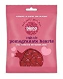 Biona Organic - Sweets - Jellies - Pomegranate Hearts - 75g