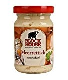 Block Foods Block House Raifort Piquant Nature (Verre De 90G)