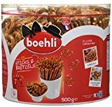 Boehli Tubo 500g Sticks/Bretzels - Lot de 3