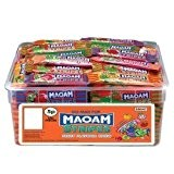 Bonbons Maoam Stripes Fruit Flavour Chew 120 Tub