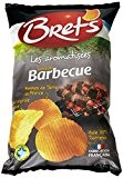 Bret's Chips Saveur Barbecue 125 g - Lot de 5