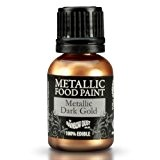 Cakes Supplies - Peinture Alimentaire Metallique Or 25Ml