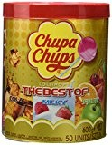 Chupa Chups Tubo de 50 Sucettes Best Of (600 g)
