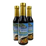 Coconut Aminos (Three 8oz Bottles) by Coconut Secret