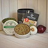 Collection de mini herbes Life of Spice - Ensemble cadeau de 3 mélanges d'herbes Life of Spice (20g chacun)
