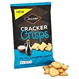 Cracker Chips Mer De Sel De Jacob & Vinaigre Balsamique 150G - Paquet de 2