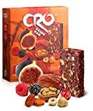 CRO PALEO BAR * Barre énergétique inspirée pour une diète PALÉOLITHIQUE* 100% naturel* 6x40g* figues sèches, dattes, fruits secs et ...