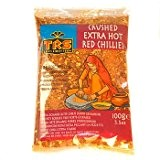 Crushed Chillies, Extra Hot, TRS 100g