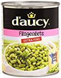 d'Aucy Flageolets Extra Fins 800 g - Lot de 6