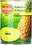 Del Monte Tranches d'Ananas au Jus 350 g