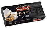 Delaviuda - Turron duro, Nougat dur d'Amande - Qualité Suprême - 200gr (Sans Gluten) - (Touron)Produit Espagnol / Nougat Espagnol