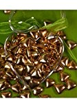 Dragées petit coeur chocolat or 500 g