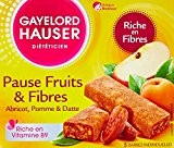 Gayelord Hauser Pause Fruits et Fibres Abricot 125 g