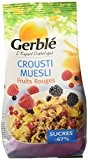 Gerblé Muesli Crousti aux Fruits Rouges 375 g - Lot de 4