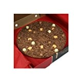 "Gourmet Chocolat Mini 4"" Pizza. Chocolat au lait belge - Heavenly Honeycomb 4 ""Pizza"