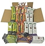Healthy Sweet & Salty Snack Bar Bundle Box of 50 (Kashi, Nature Valley, Kellogg's) by N/A