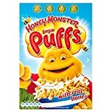 Honey monstre Foods sucre Puffs (320g) - Paquet de 6
