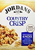 Jordans Céréales Country Crisp 550 g - Lot de 3