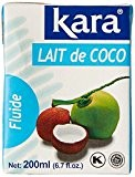 Kara Lait de Coco la Brique 200 ml - Lot de 5