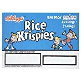 Kelloggs Rice Krispies 4 x 400gm