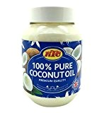 KTC 500ML JAR 100% PURE COCONUT OIL HAIR BODY SKIN OIL CONDITIONER MOISTURIS