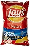 Lay's Chips Nature 150 g - Lot de 10