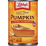 Libby's 100% Pure Pumpkin Pie Filling 425g (Pack of 4)