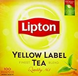 Lipton Thé Yellow Label 100 Sachets 200g