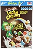 Lucky Charms Chocolate Cereal, 12-Ounce Boxes (Pack of 6) by General Mills Cereals