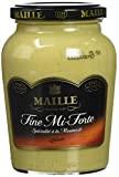MAILLE Spécialité Moutarde Fine Mi-Forte Bocal 355 g - Lot de 4