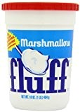 Marshmallow Vanilla Fluff Large Tub 454 g (Pack of 2)