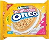 Nabisco Golden Double Stuf Oreos, 15.25 Oz (Pack of 4) by N/A