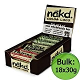 Nakd - Mixed Case - Apple Pie, Cocoa Loco, Berry Cheeky 18 x 30g