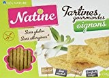 Natine Tartines Oignon sans Allergènes 150 g - Lot de 3