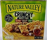 Nature Valley - Barres Granola Crunchy Pack de 40 barres x 42 g - Format economique