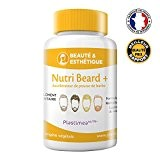 NUTRI BEARD+ !! 1ER ACCELERATEUR DE POUSSE DE BARBE FRANÇAIS !! FORMULE UNIQUE ET DOSAGE OPTIMAL POUR 100% EFFICACITE * ...