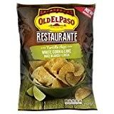 Old el paso Restaurant White Corn & Lime Chips 150 g