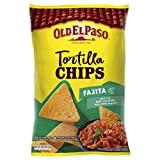 Old el paso Tortilla Chips Crunchy Fajitas 185 g