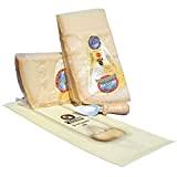 Parmigiano Reggiano AOP DE COLLINE, fait de 24 mois, Kg.1 + petit coteau + un sachet fraîcheur