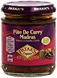 Pataks Pâte Curry Madras 165 g