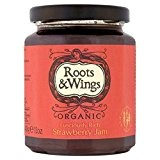 Roots & Wings Fraises Bio 340G De Confiture - Paquet de 6